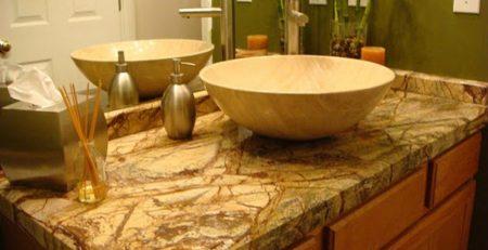 ankara granit banyo tezgahı